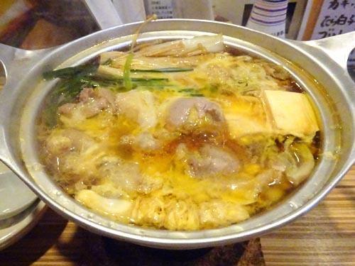 06ひね鶏のすき焼き風