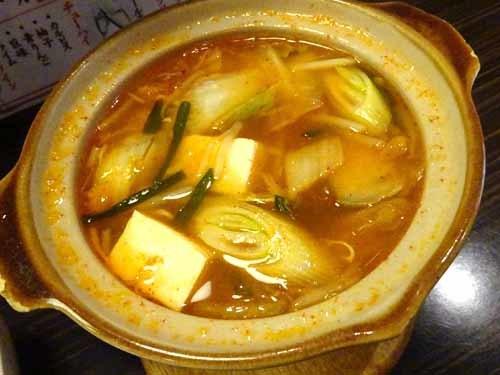 16豚キムチ鍋
