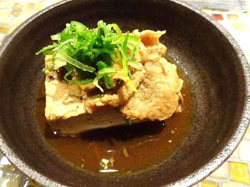 03鶏かす豆腐