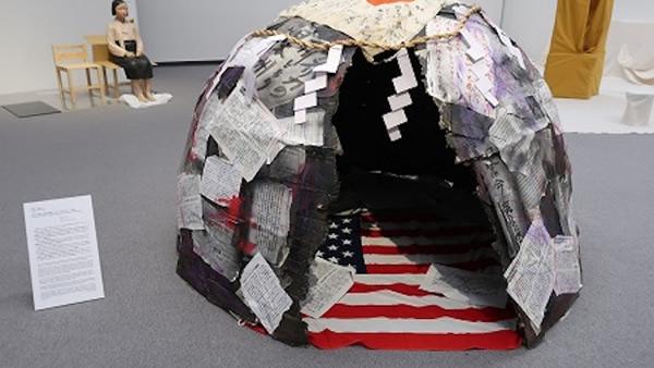あいちトリエンナーレ2019「表現の不自由展・その後」の展示作品より