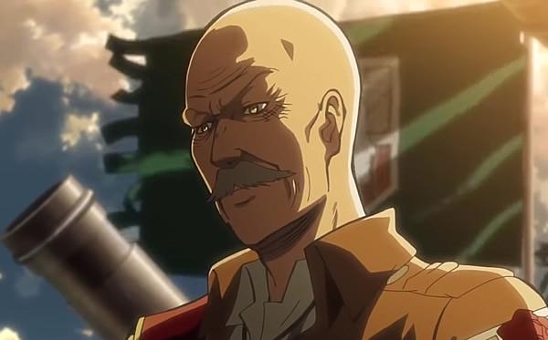 『進撃の巨人』 ピクシス司令
