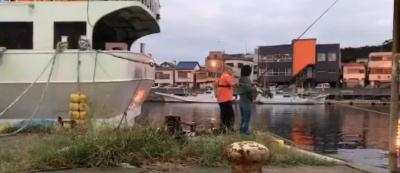 北条湾の釣り座