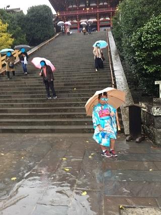 七五三大雨