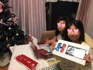 クリスマスプレゼントSwitch