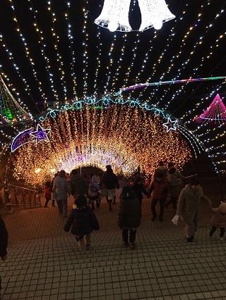 宮ケ瀬イルミネーション階段