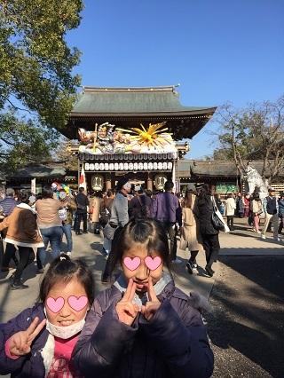 寒川神社初詣