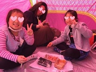 辻堂海浜公園テント