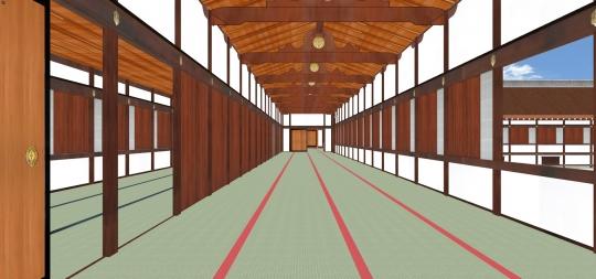 2020-03-7-御拝廊下