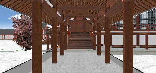 2020-03-18-東軒廊から紫宸殿東庇に昇ります