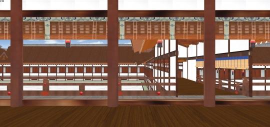 2020-03-15-紫宸殿北廂から露台
