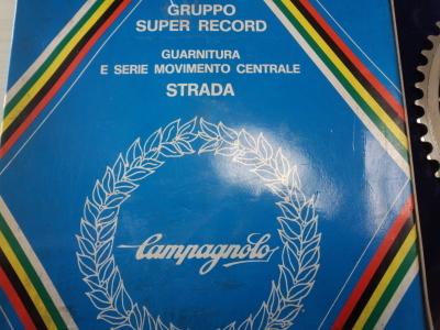 カンパニョーロ レコード クランクセット ボックス