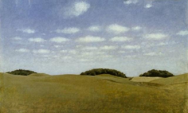 ハンマースホイ Landscape, From Lejre