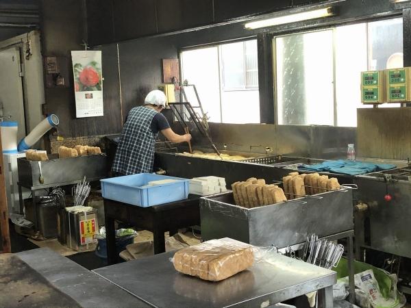 佐藤豆腐店店内