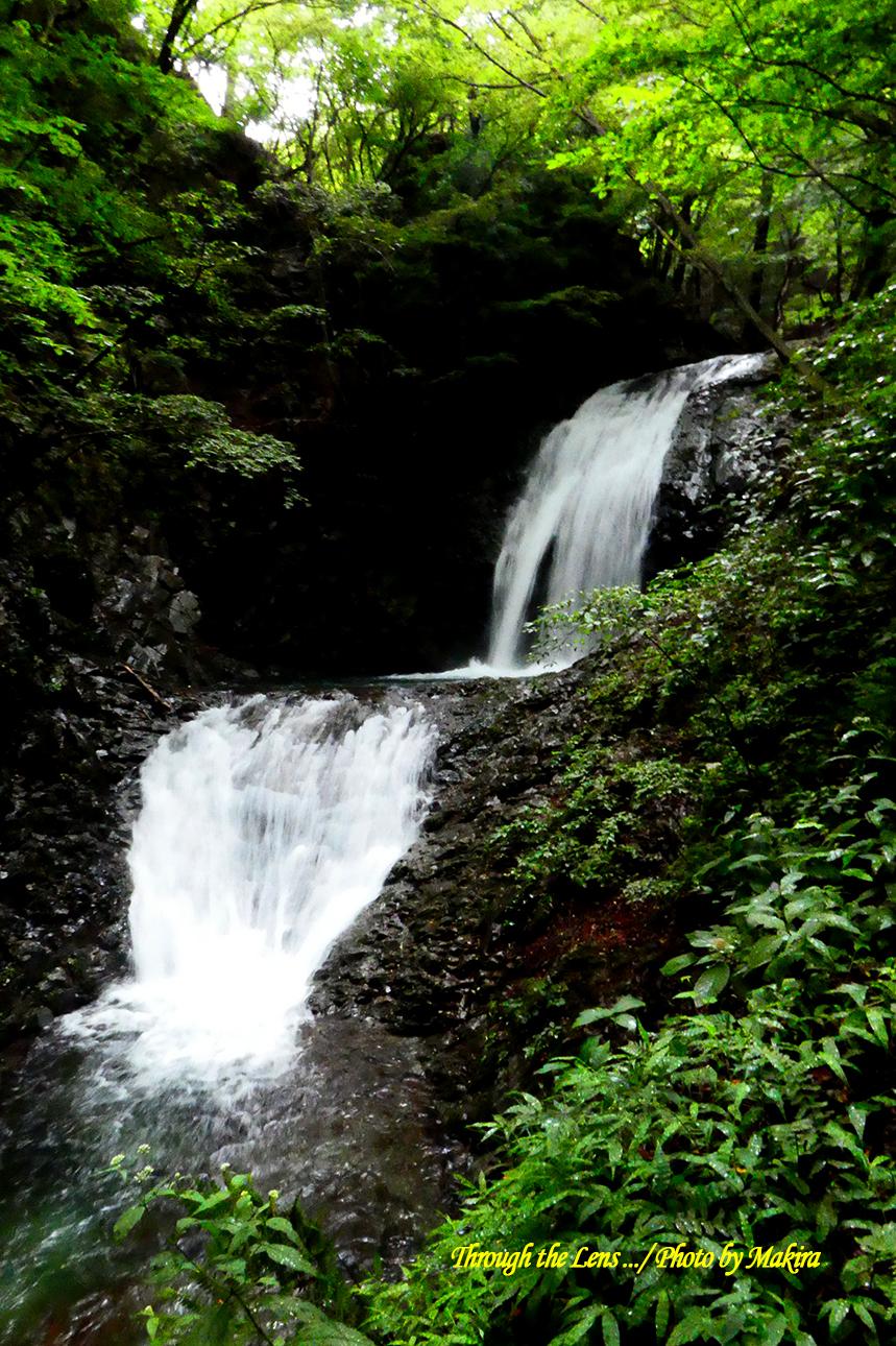 太閤下ろしの滝TZ2