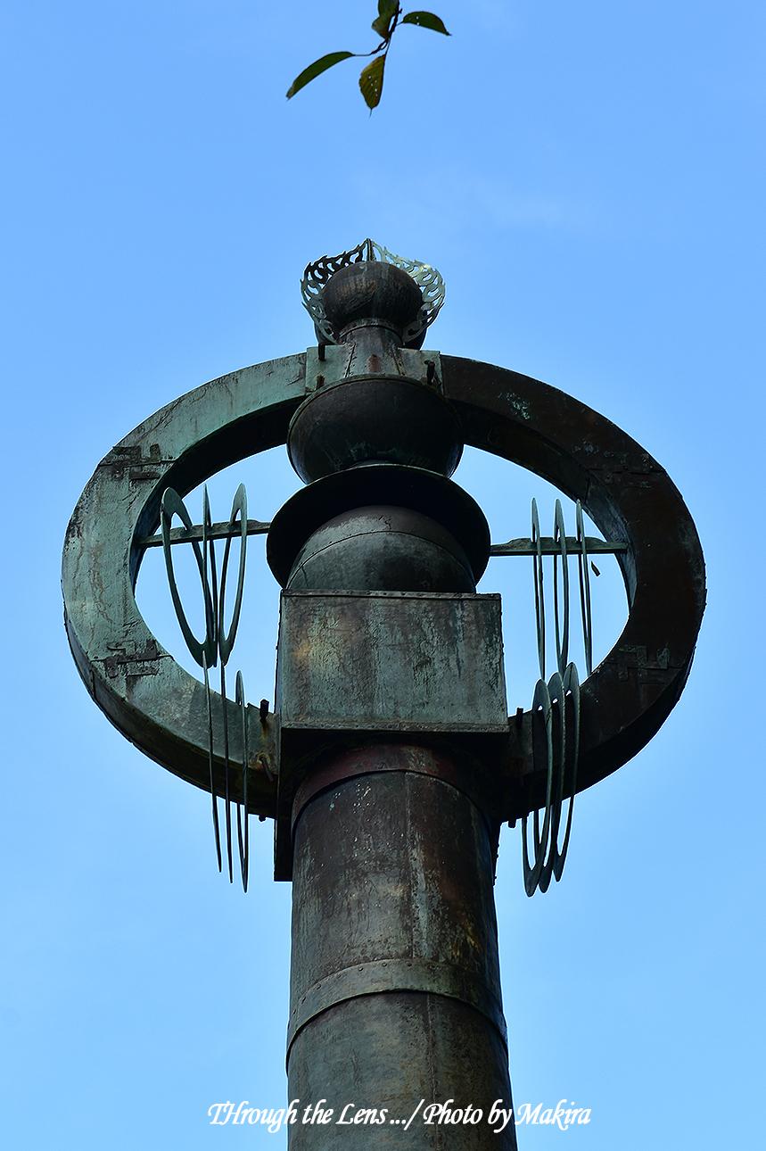 西蓮寺 相輪橖56D3