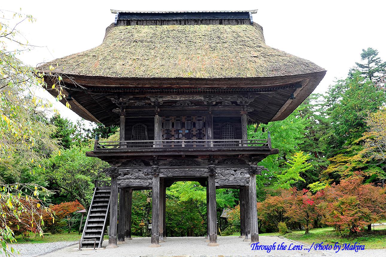 霊松寺山門1