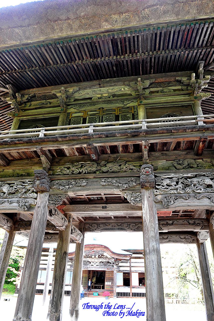 霊松寺山門3