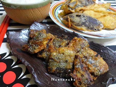 NANTONAKU 10-11 秋刀魚の唐揚げ