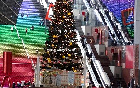 京都駅のクリスマススツリー 1