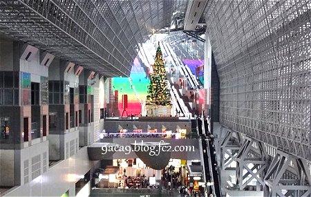 京都駅のクリスマススツリー 2