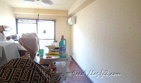 部屋の掃除改造