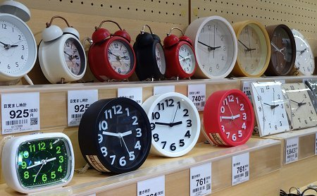 ニトリの時計