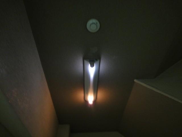 蛍光灯切れ