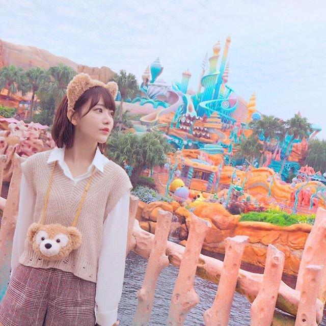 Instagram用画像撮影の為に訪れたTokyo DisneySea 千葉県 宮脇