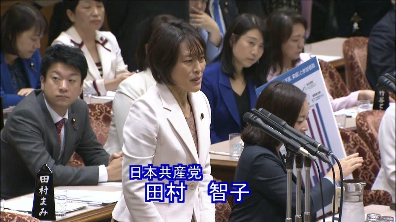 田村智子「桜を見る会」問題