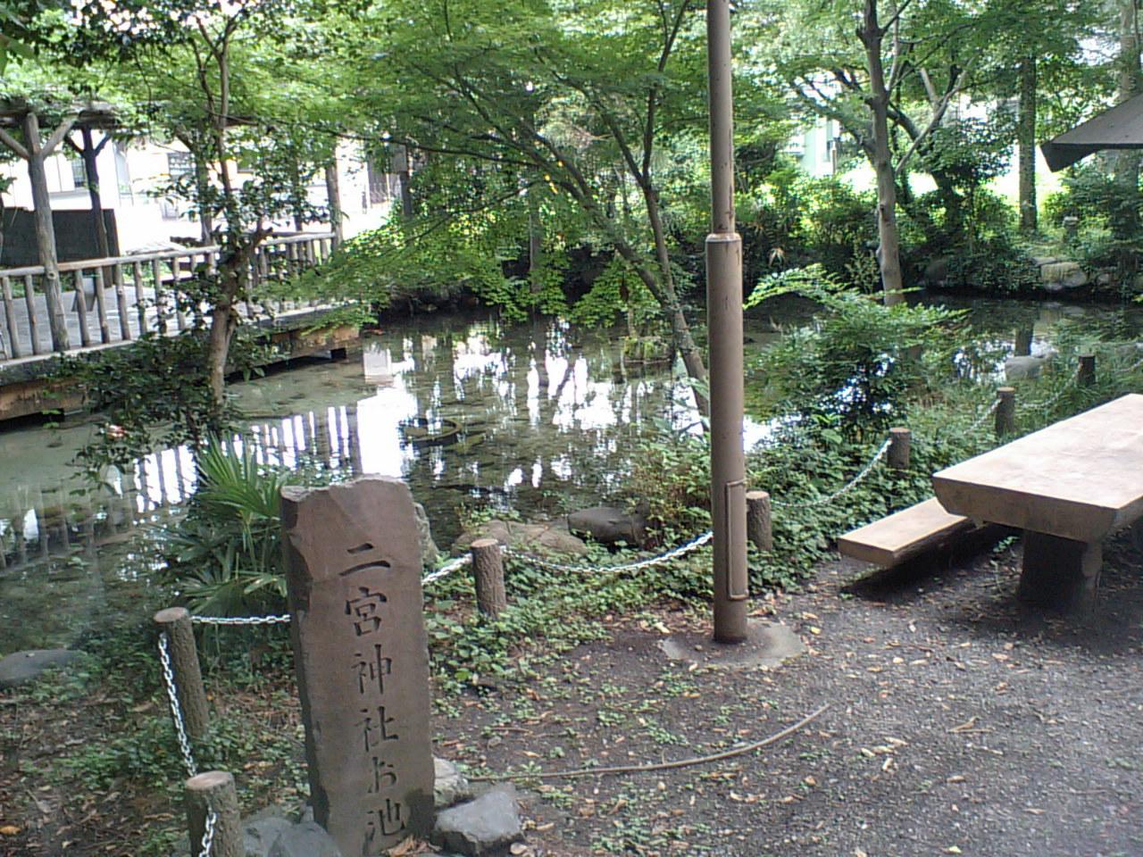 二宮神社お池