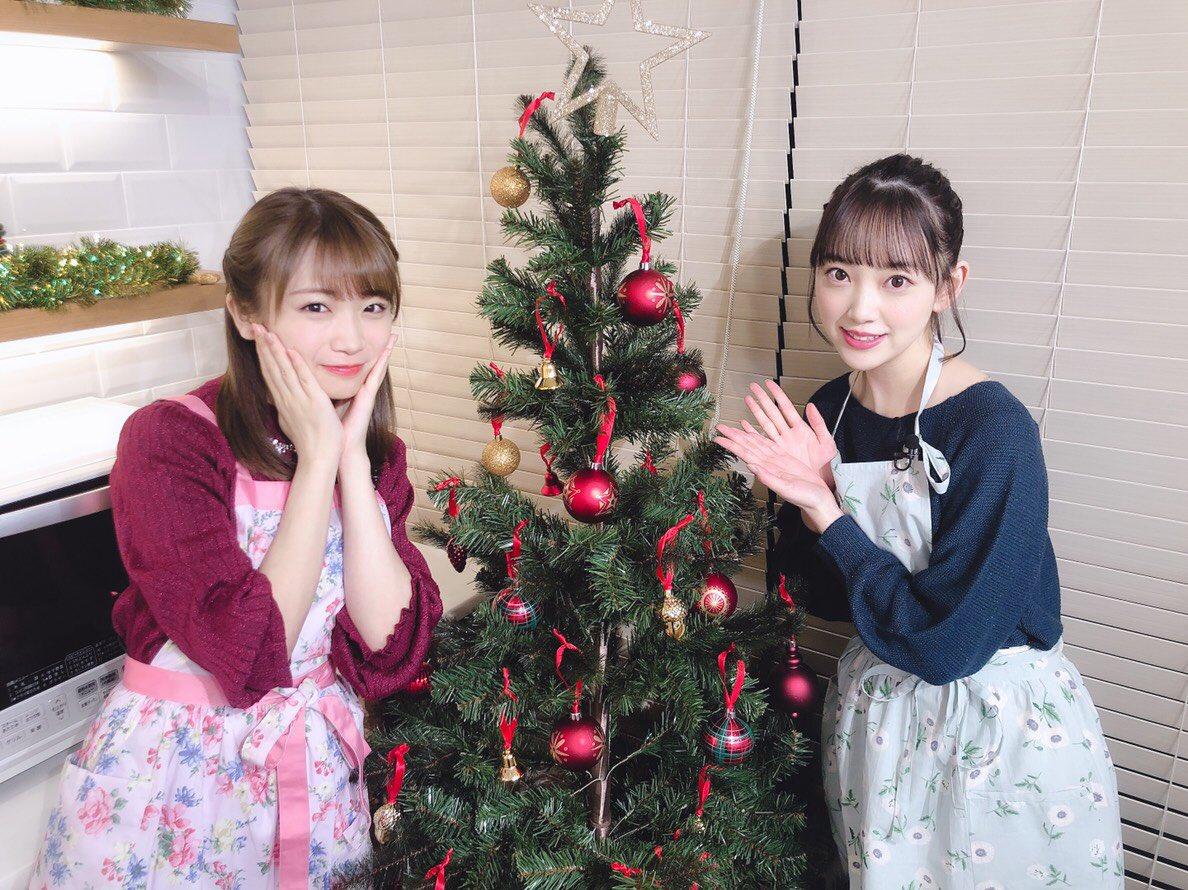 秋元真夏 堀未央奈 2019 クリスマス 済み