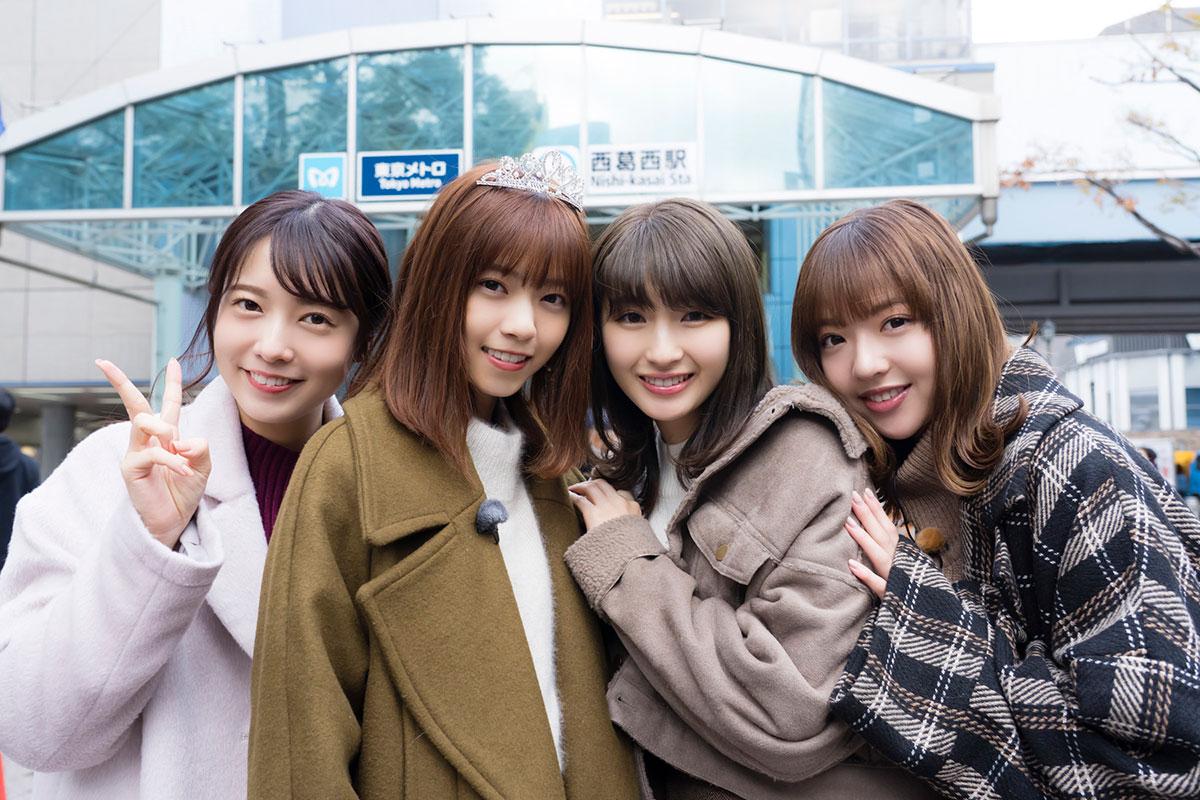 乃木坂46 2019→2020 冬 西葛西駅  済み