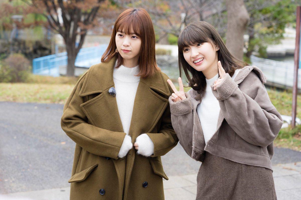 乃木坂46 西野七瀬 井上小百合 2019→2020 冬 済み