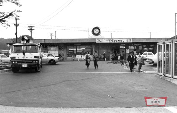 1982(昭和57)年頃の陸中山田駅