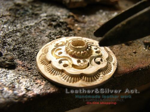オーダーコンチョ 純銀 シルバー