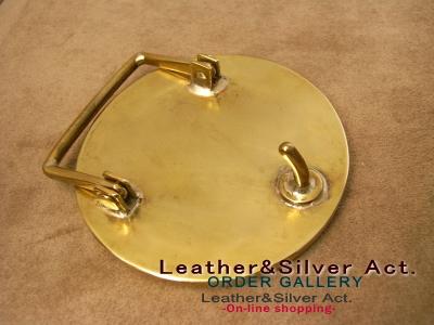 家紋 オーダーメイド シルバーベルト 真鍮