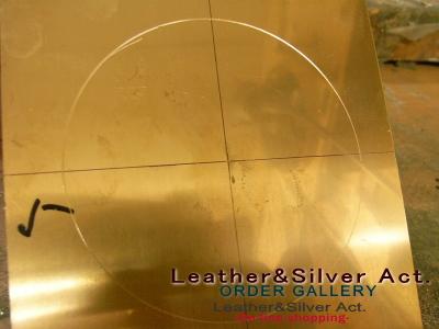 オーダーメイド 真鍮 シルバーベルト