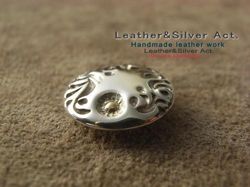 純銀 シルバーコンチョ オーダー