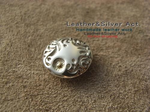 純銀 シルバーコンチョ オーダーメイド