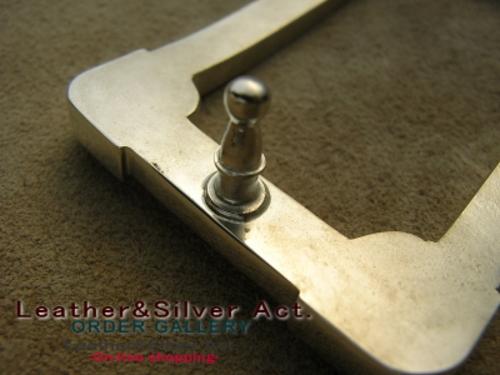 ベルト シルバー925 純銀