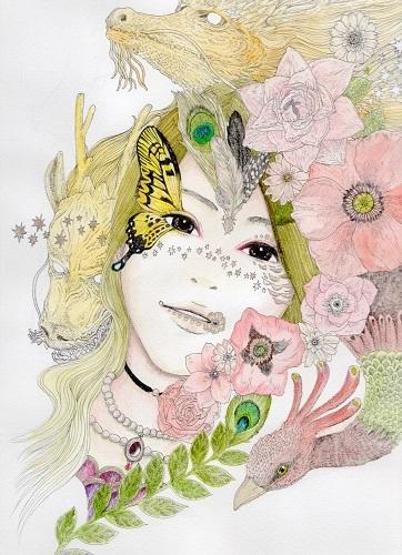 パピコ蝶と龍