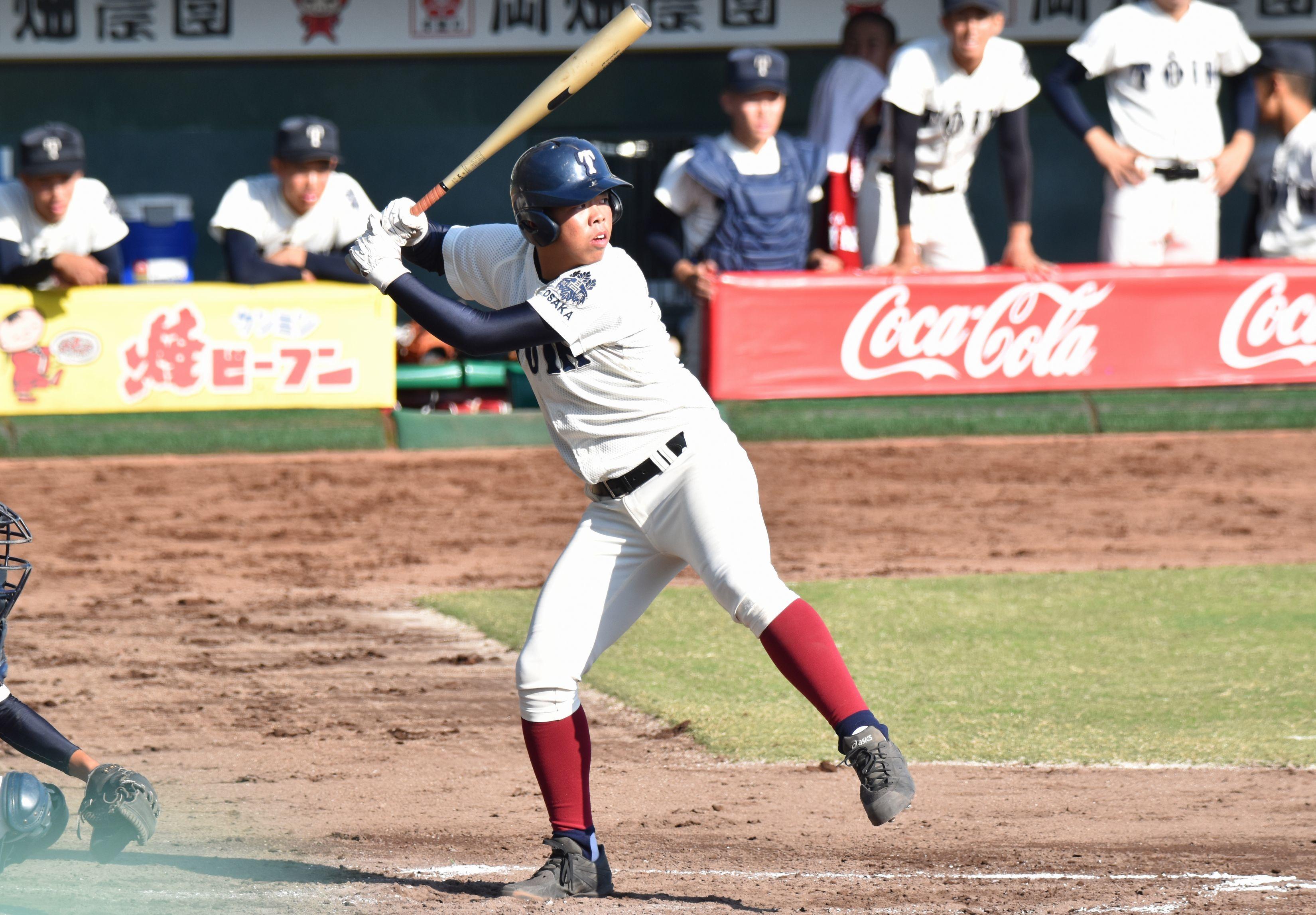 20181027大阪桐蔭 西野
