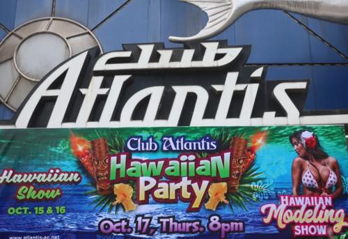 club atlantis hawaiian party