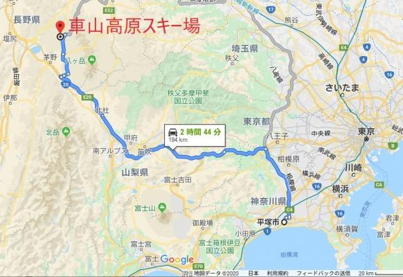車山ルート