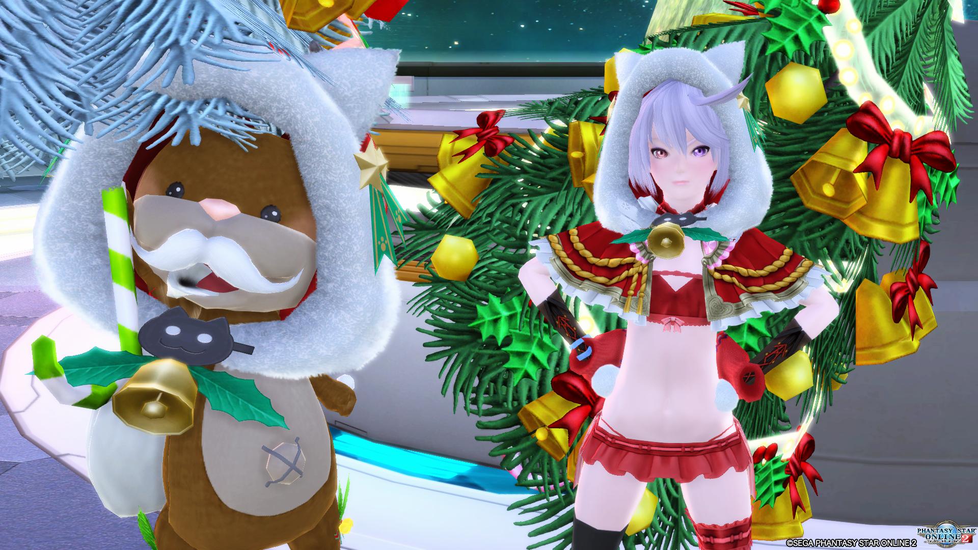 クリスマスツリーになる練習&チムメンとフレンドさんでエンドレス2周!