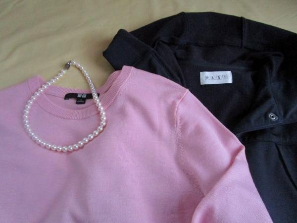 ユニクロpinkのセーター (4)