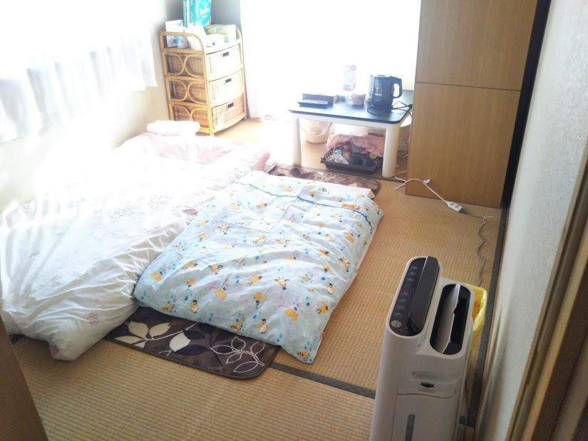 2階和室 赤ちゃんと母親の部屋 全体
