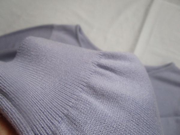 クリアインプレッション藤色セーター (1)