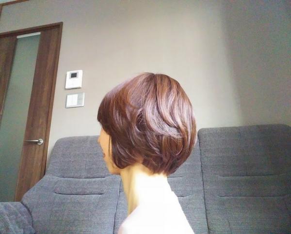 髪の状態 パーマ 白髪染