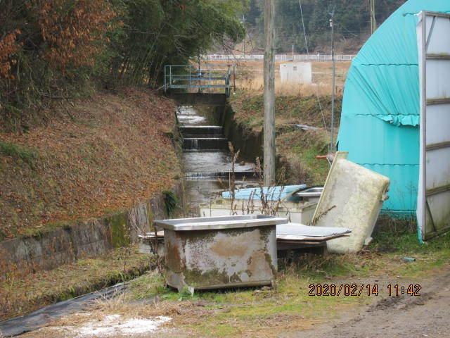 育苗用用水路
